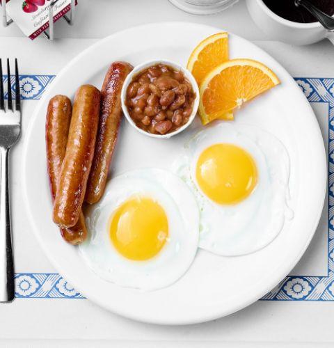 Saucisses à déjeuner porc et poulet, conservées (12/lb)