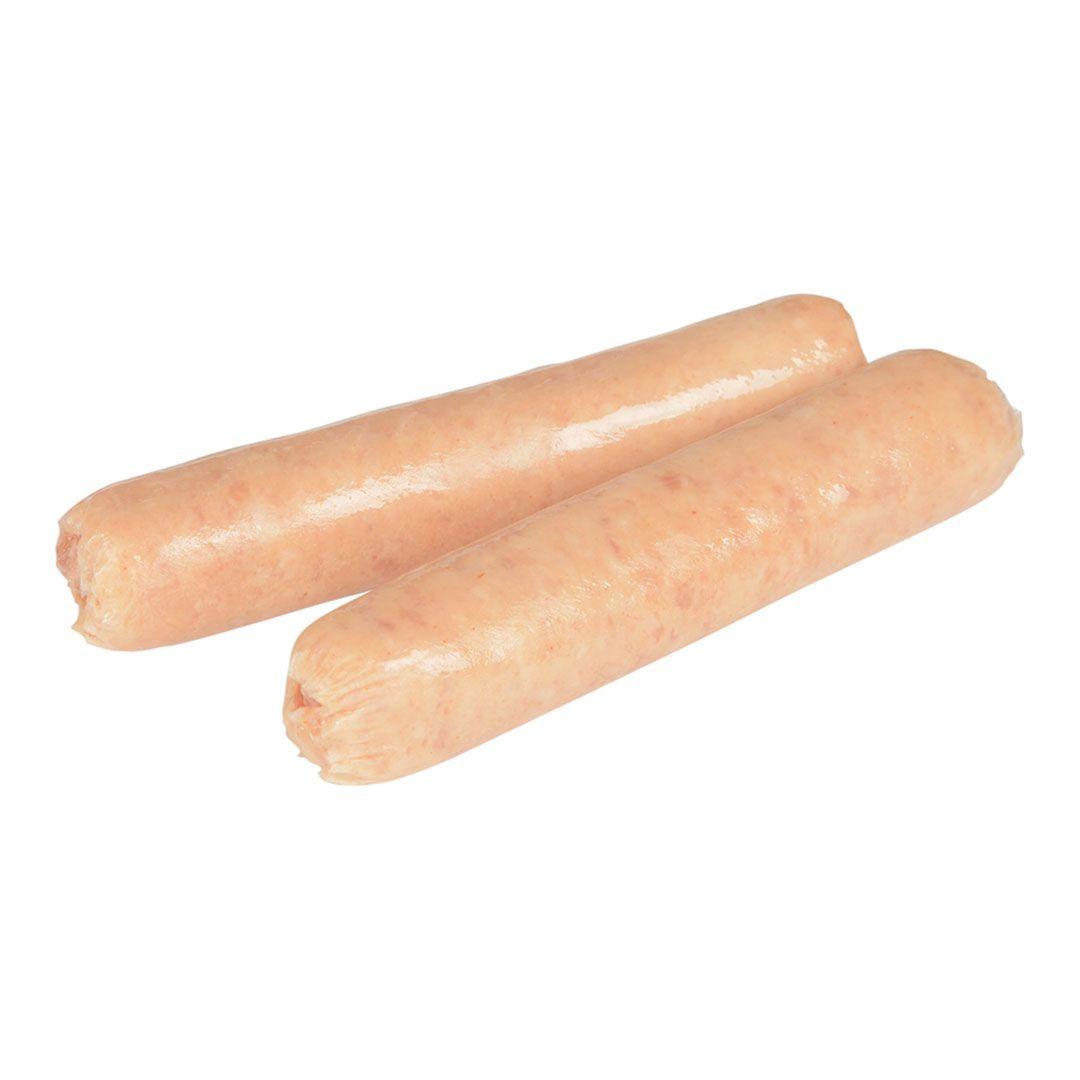 Pure pork sausages