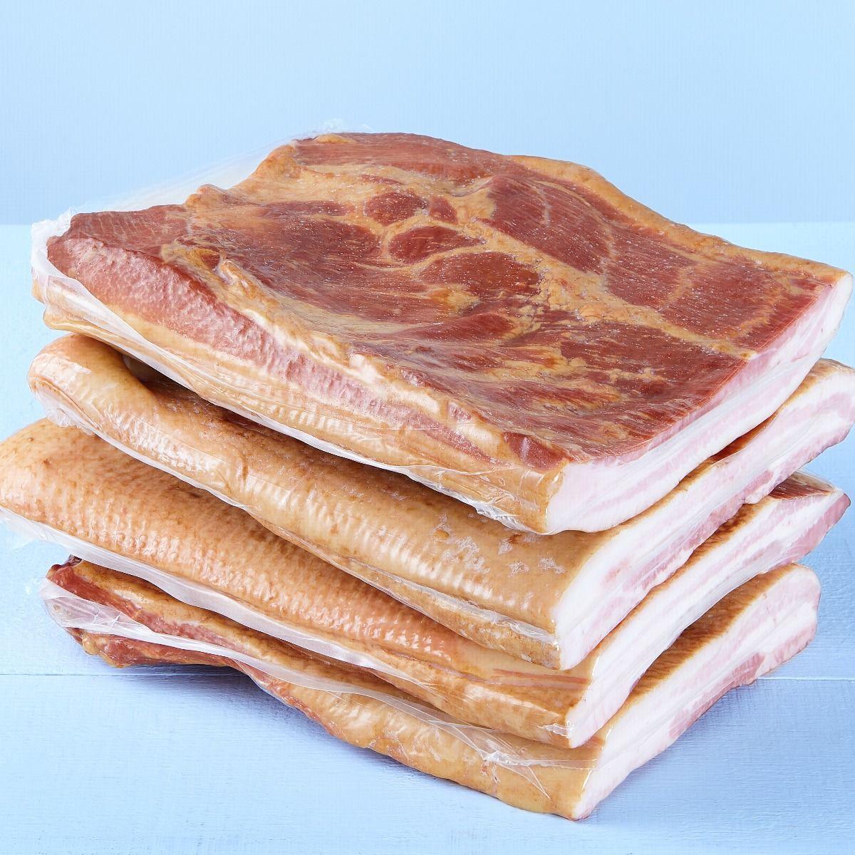 Flèche de bacon, entièrement cuite