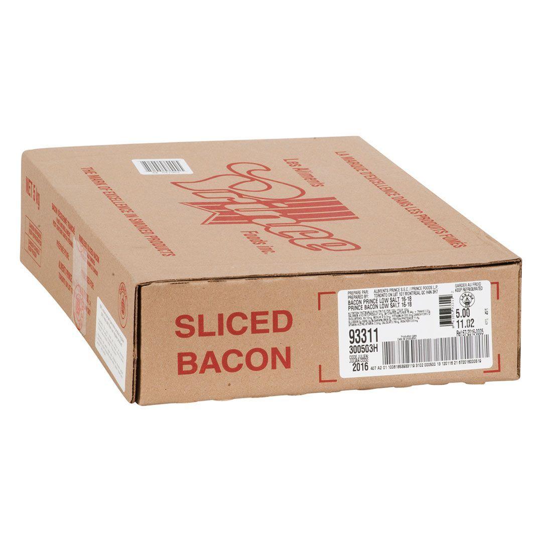 Bacon, 33% moins de sodium (16-18 tr/lb)