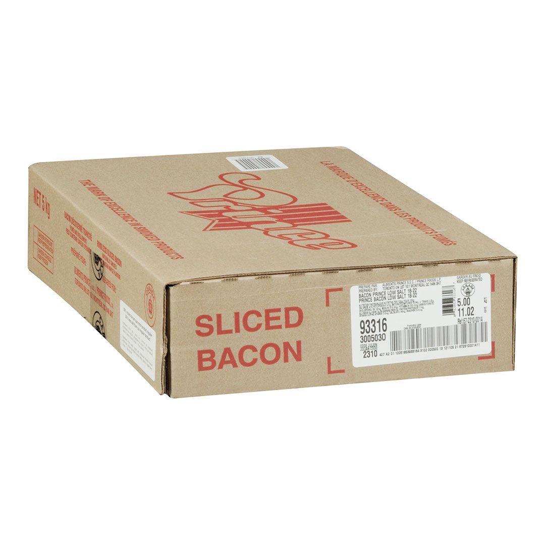 Bacon, 33% moins de sodium (18-22 tr/lb)