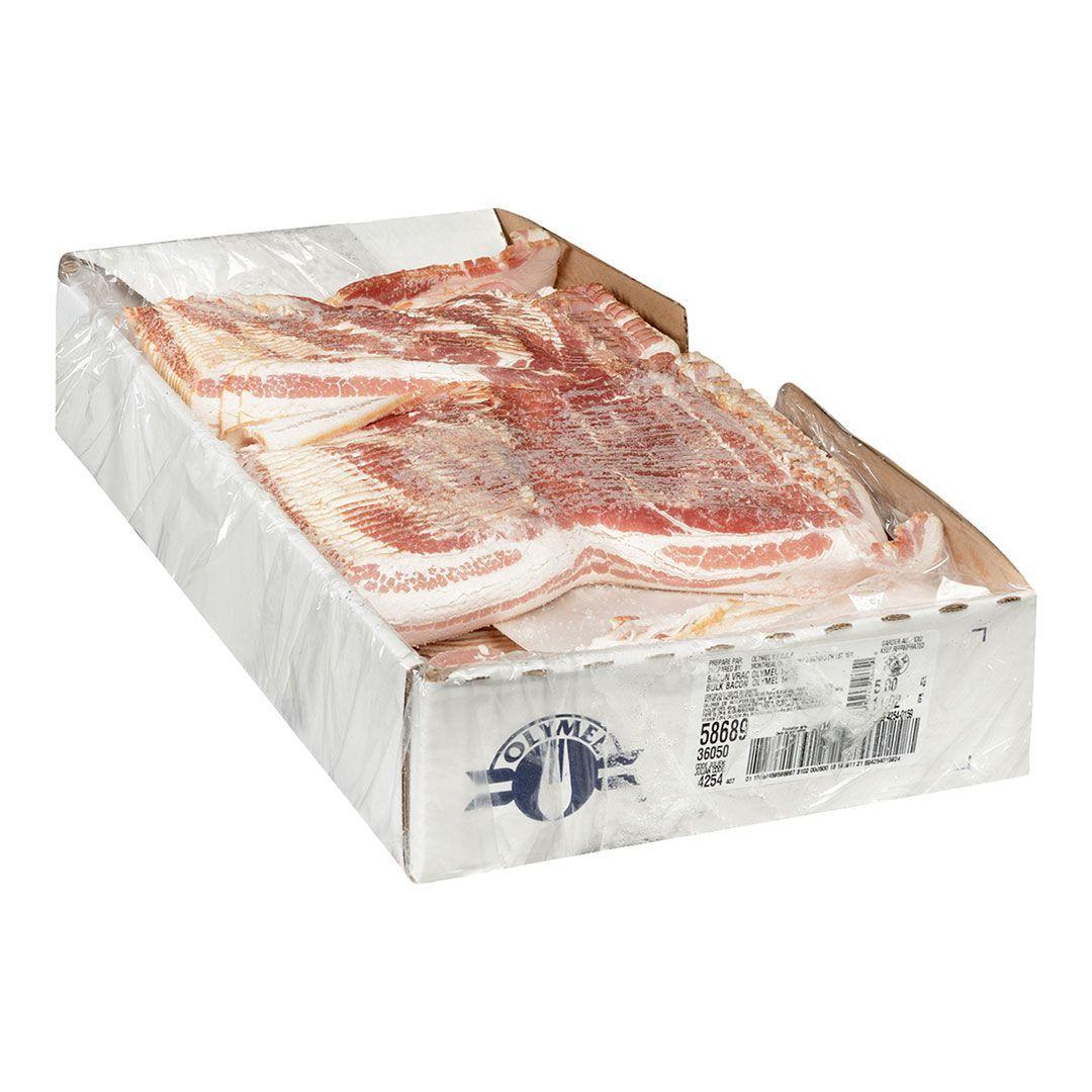 Centre-cut bacon (fresh, bulk, 14-16 sl/lb)