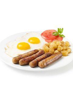 Saucisses à déjeuner porc et boeuf, conservées (12/lb)