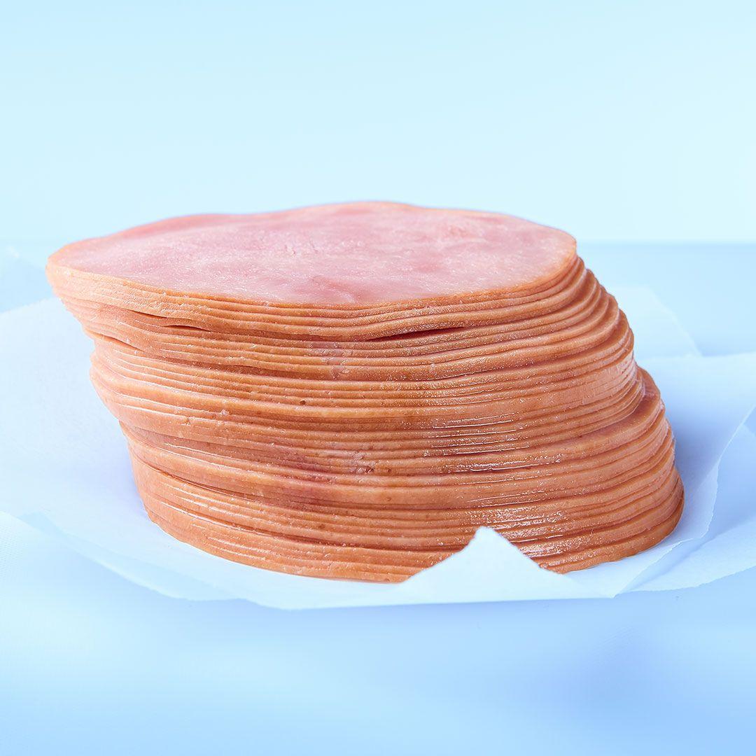 Boneless sliced smoked ham (6 x 500 g)