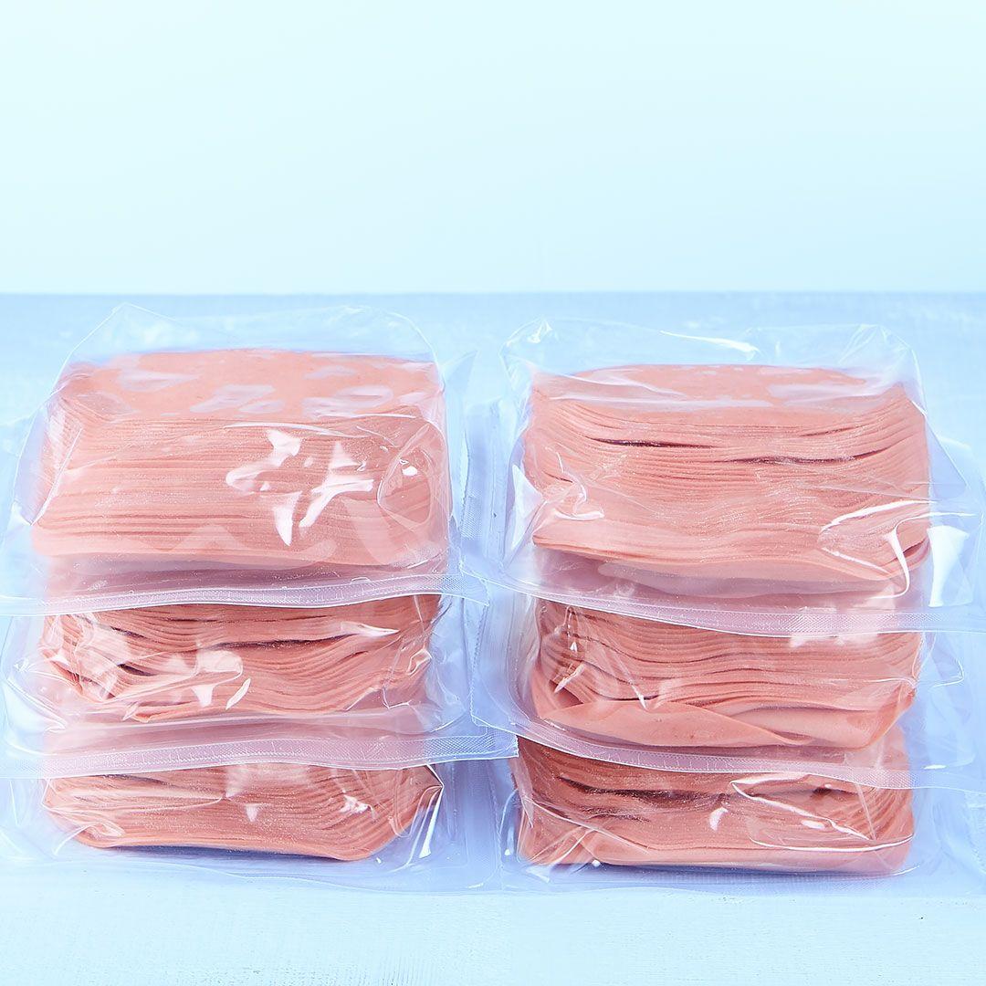 Sliced bologna (low sodium, 6 x 500 g)