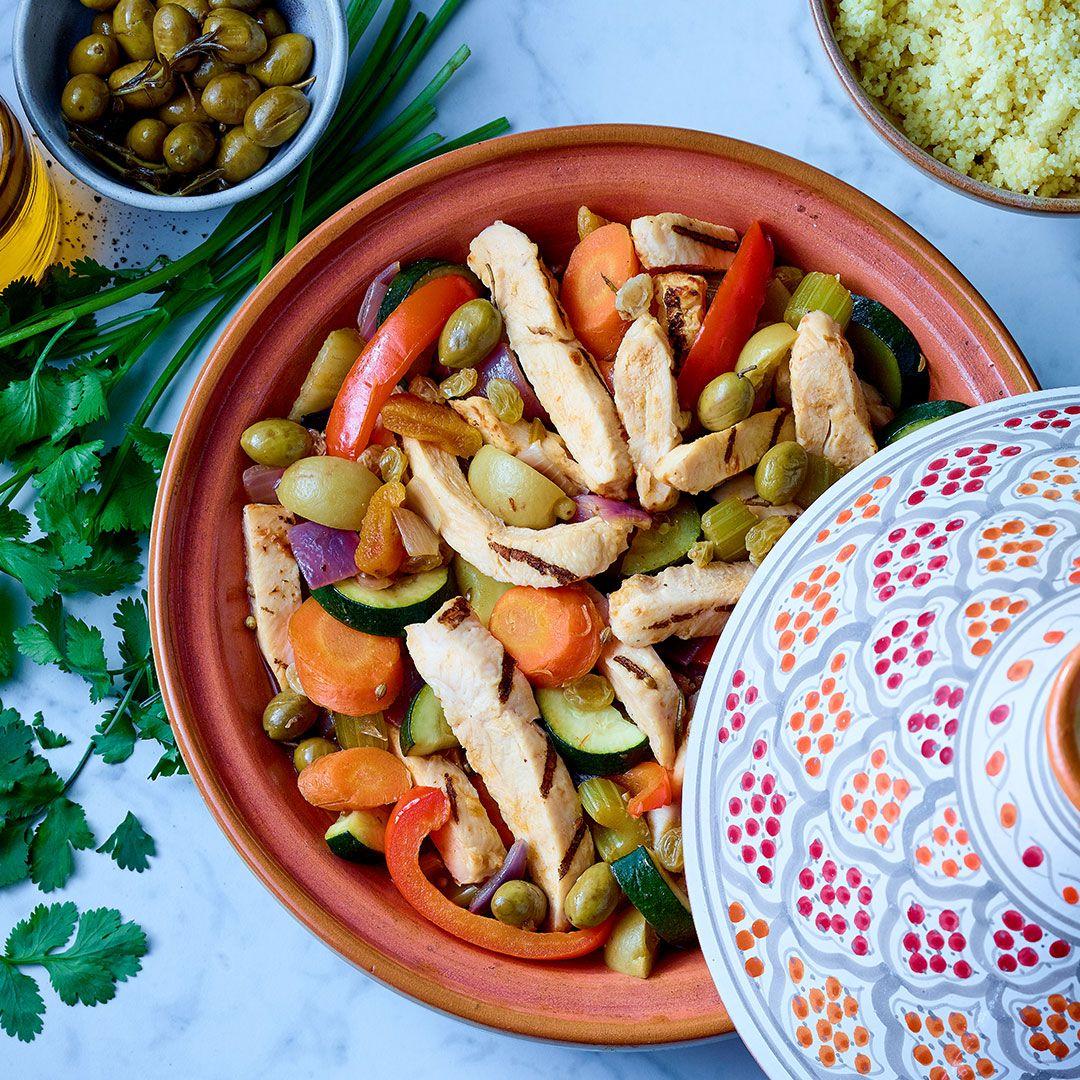 Lanières de poitrine de poulet halal, entièrement cuites (assaisonnées)