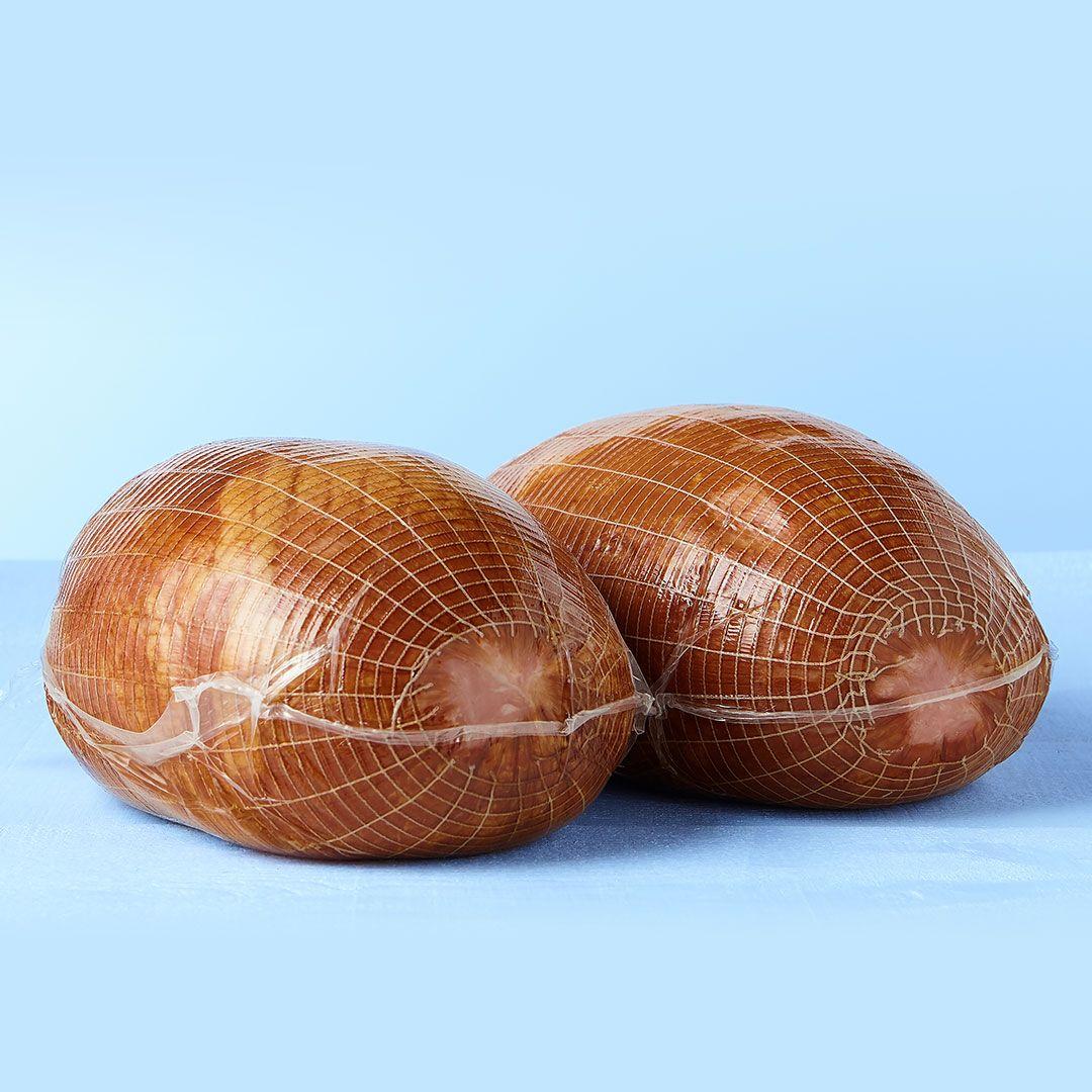 Toupie-style traditional smoked ham