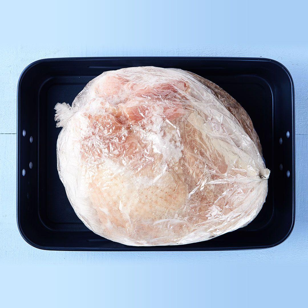 Turkey breasts with back (seasoned)