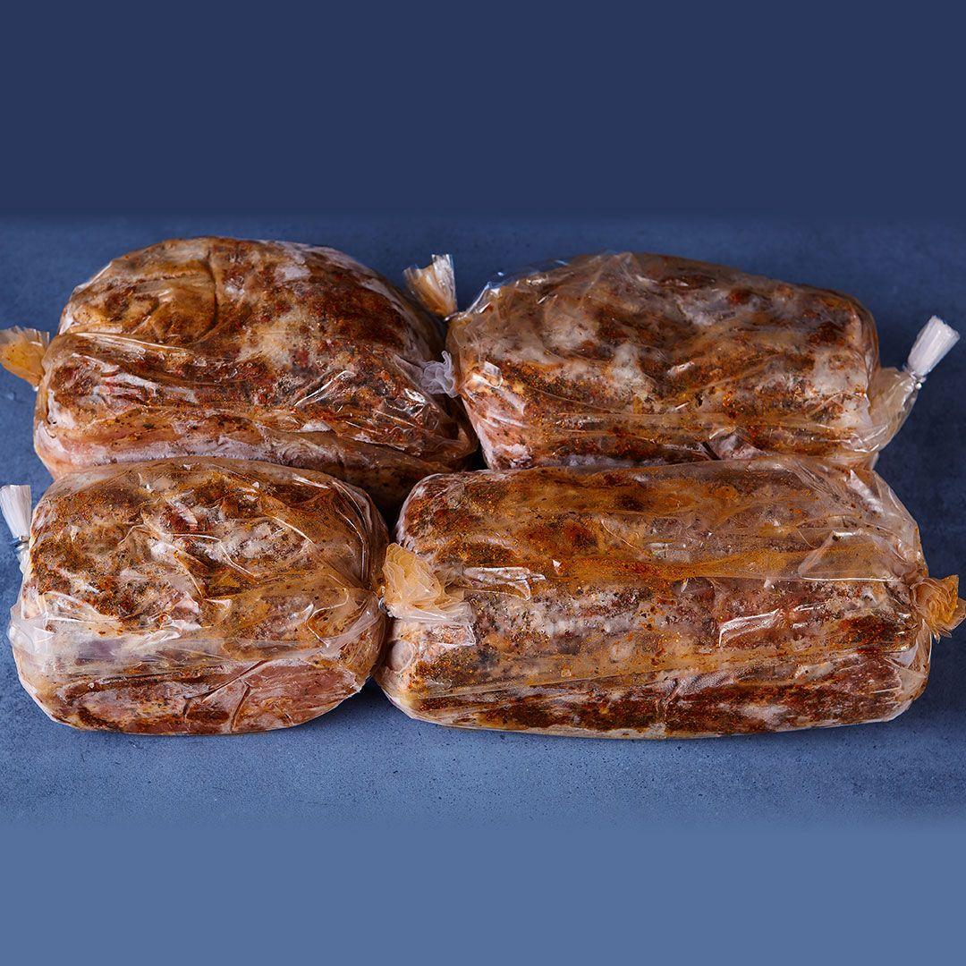 Longes de porc marinées tomate-basilic (en sac de cuisson)