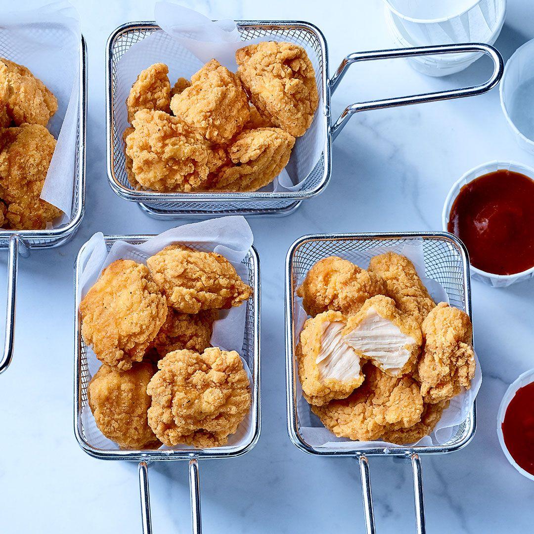 Xtreme, morceaux de poitrine de poulet panés, entièrement cuits