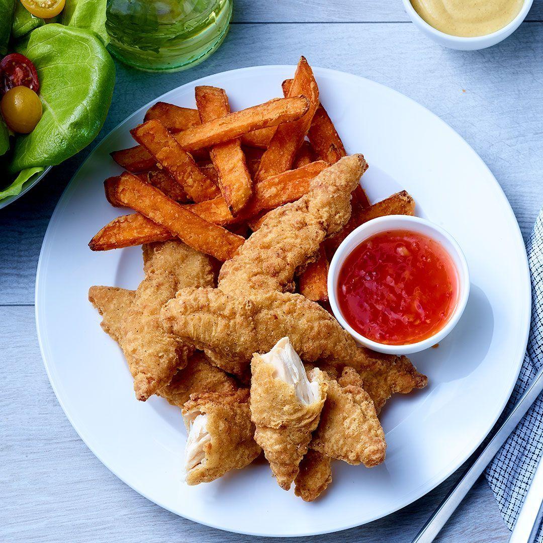 Love Me Tenders, breaded chicken breast fillets