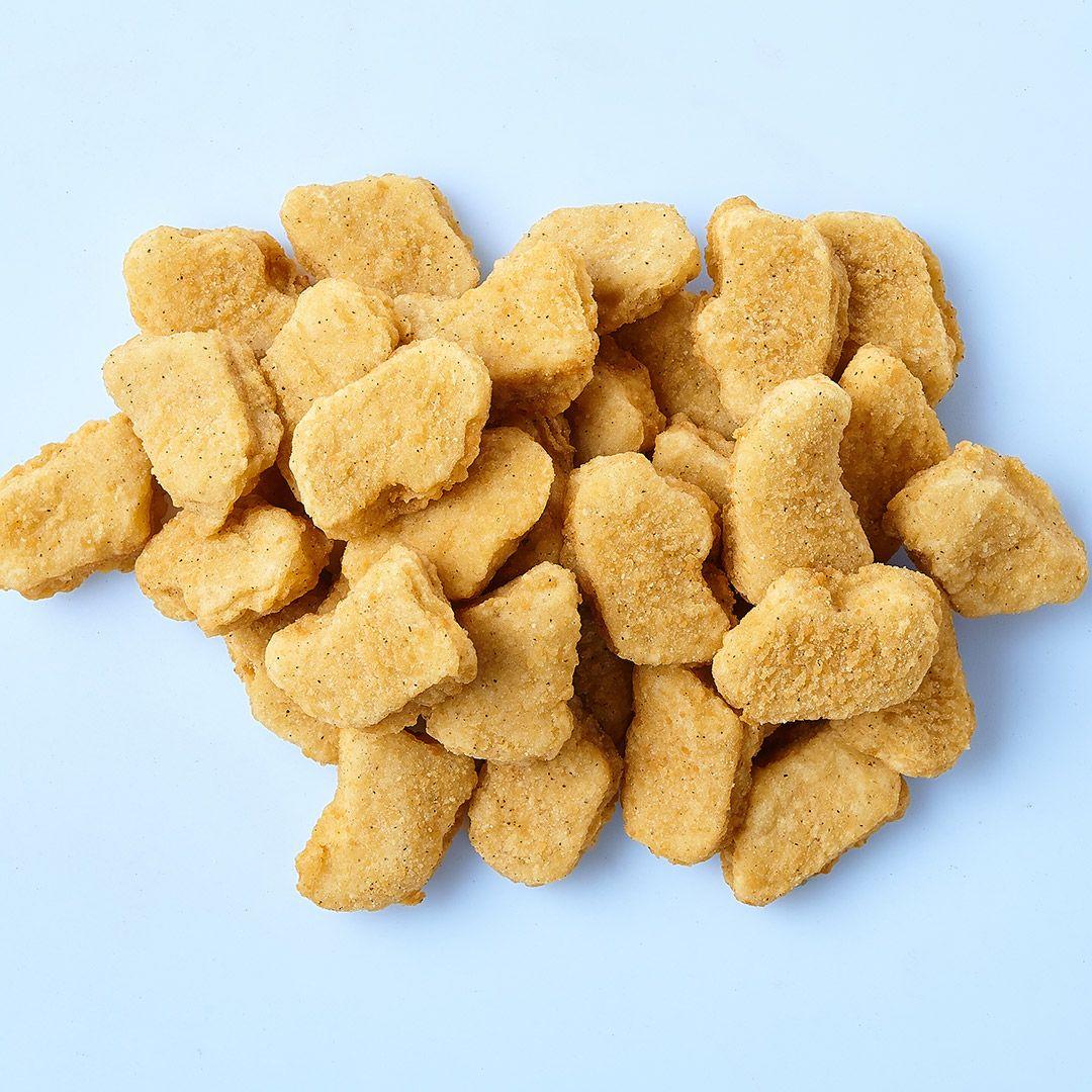 Pépites de poitrine de poulet panées