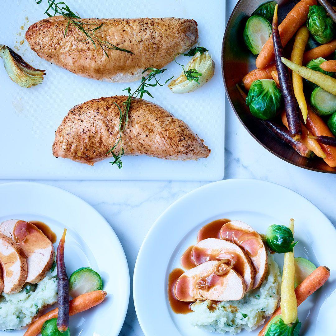 Chicken fillets (seasoned)