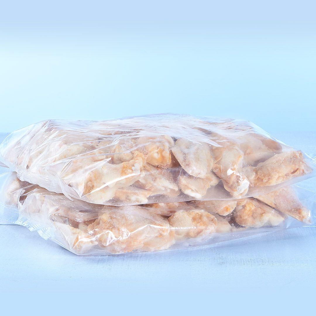Ailes de poulet piquantes et épicées, coupées (assaisonnées)