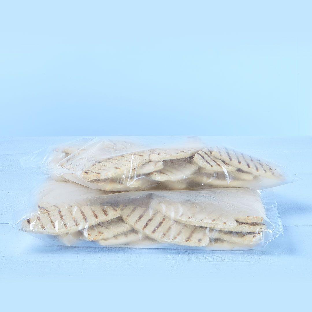 Chicken breast patties, fully cooked (seasoned)