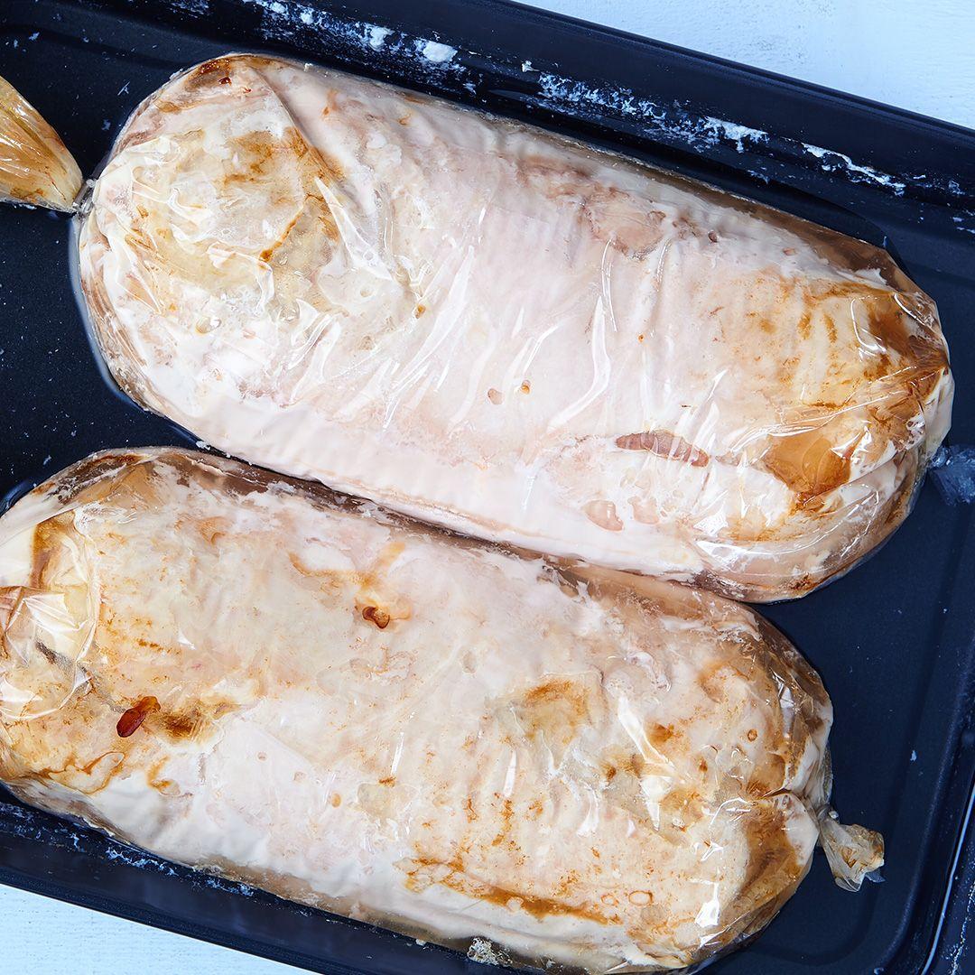 No-salt-added boneless, seasoned, uncooked turkey breast roast