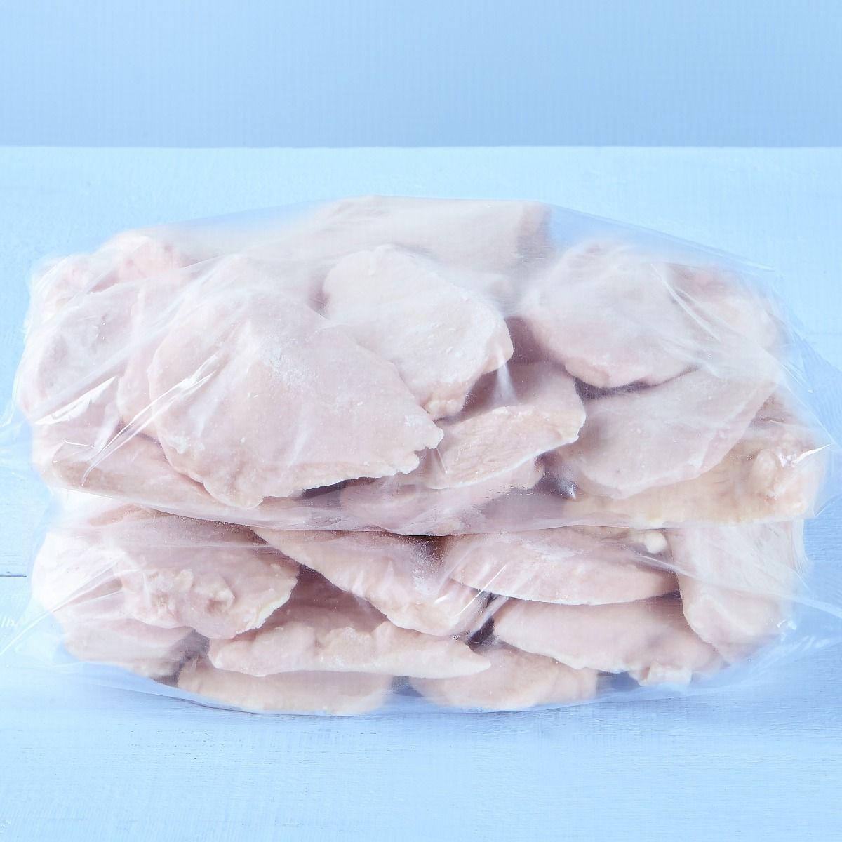 Boneless, skinless chicken breasts (seasoned, 2.54-3.24 oz)