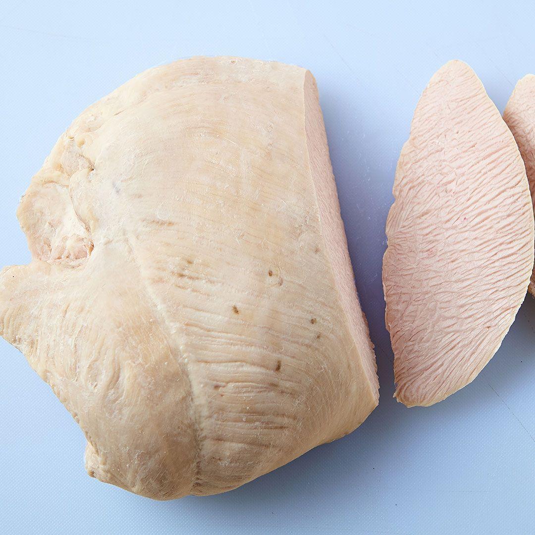 Poitrines de dindon désossées, entièrement cuites (assaisonnées)