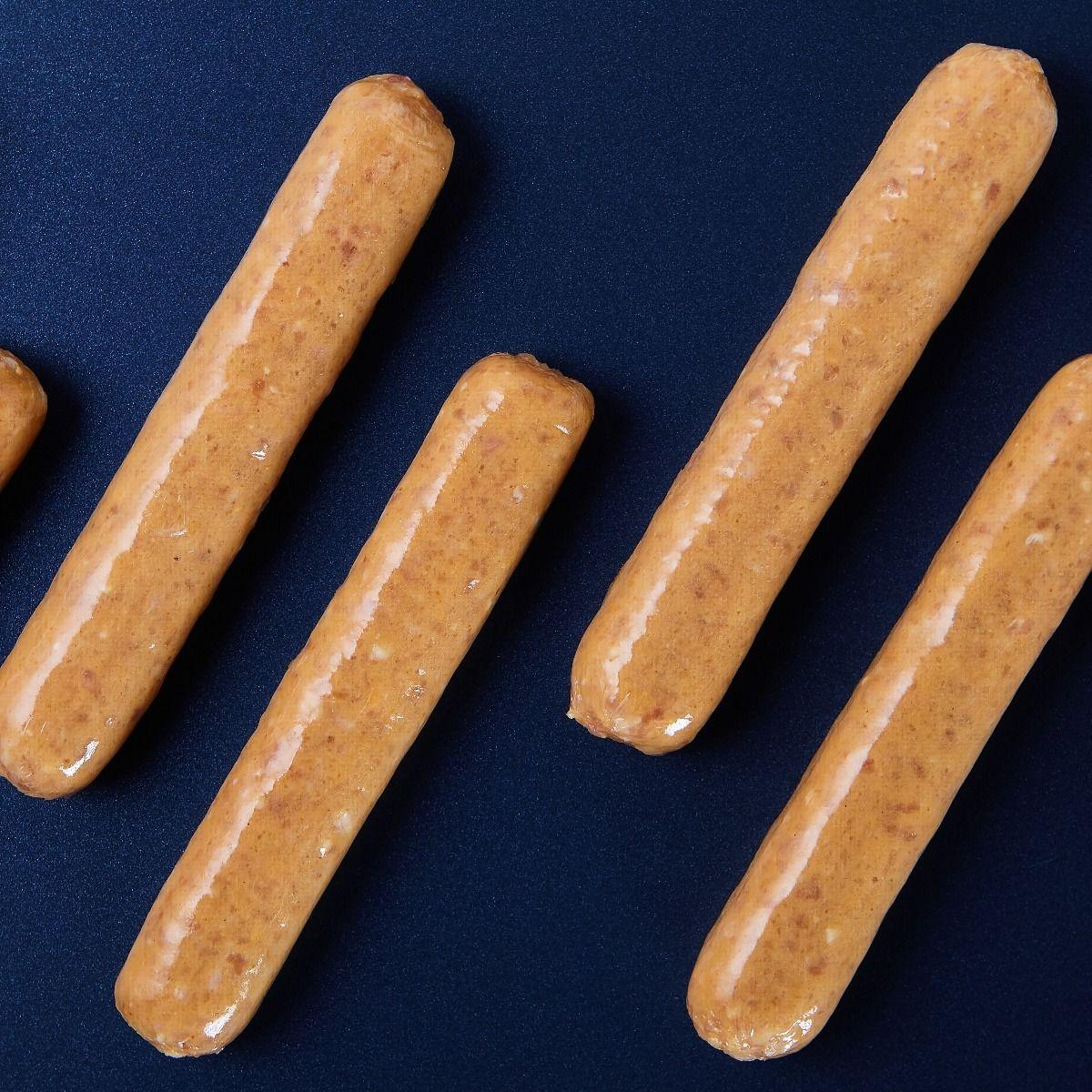 Turkey breakfast sausages, preserved (16/lb)
