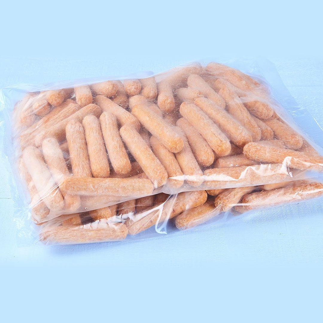 Saucisses à déjeuner porc et boeuf, conservées (13/lb)