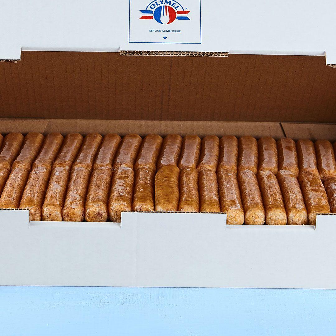 Gluten free pork sausage (vegetal casing)