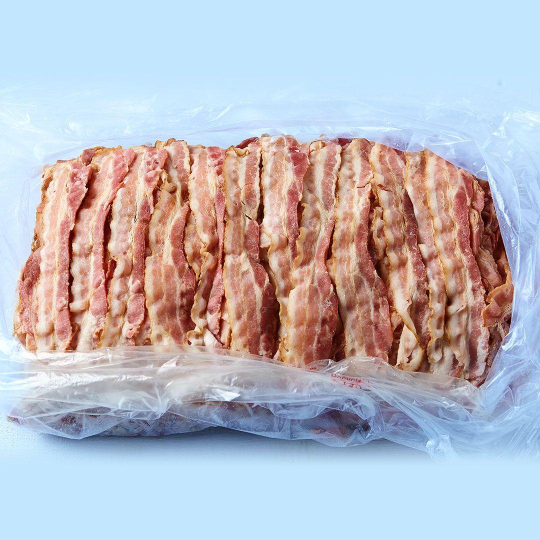 Bacon entièrement cuit (18-22 tr/lb)