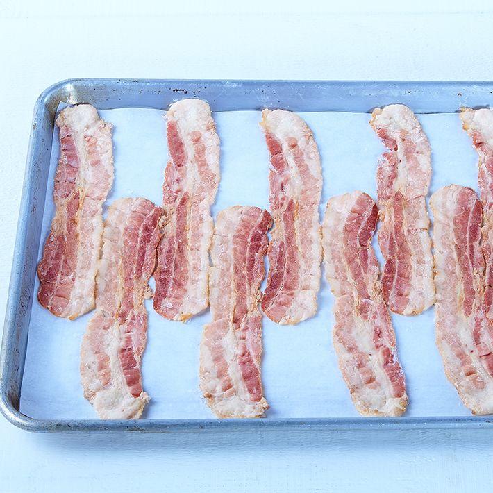 Bacon, partiellement cuit (14-16 tr/lb)