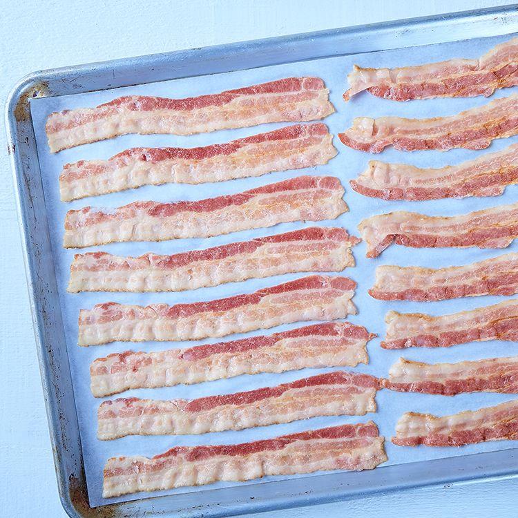 Bacon, partiellement cuit (18-20 tr/lb)