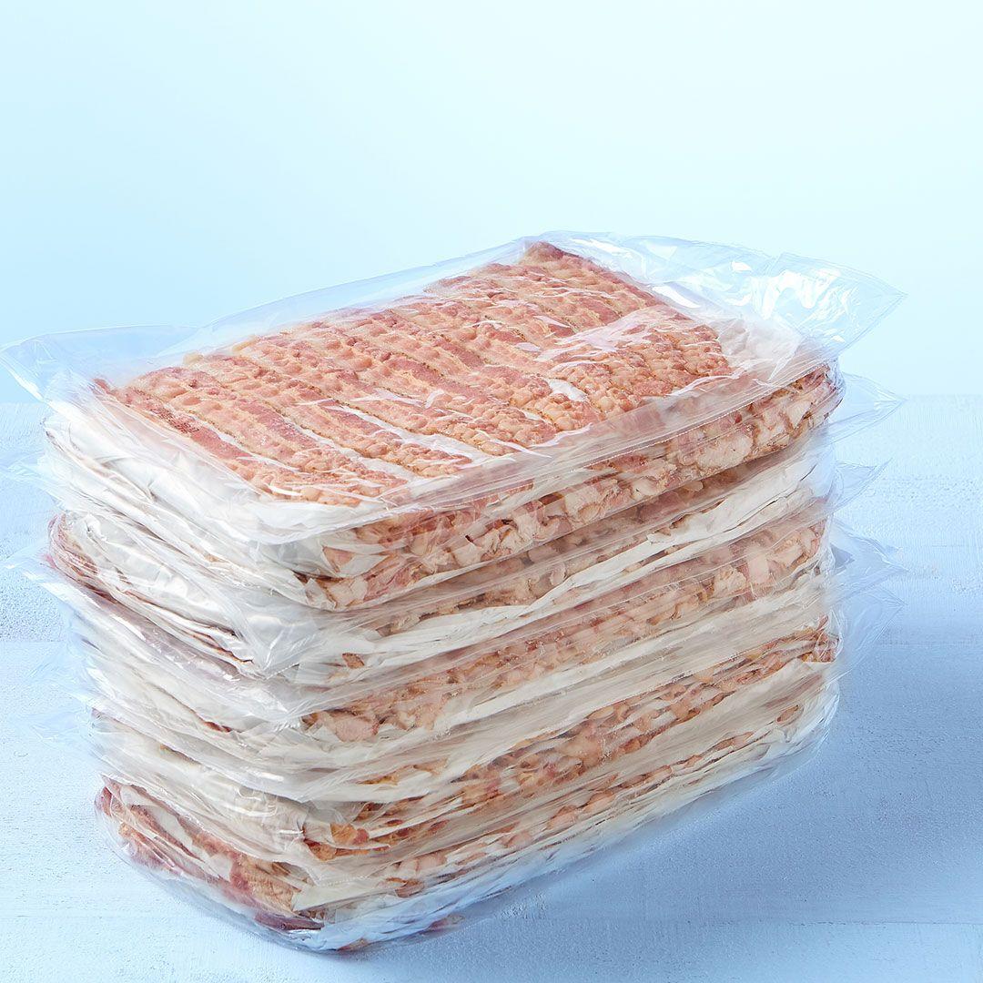 Bacon, partially cooked (18-22 sl/lb)