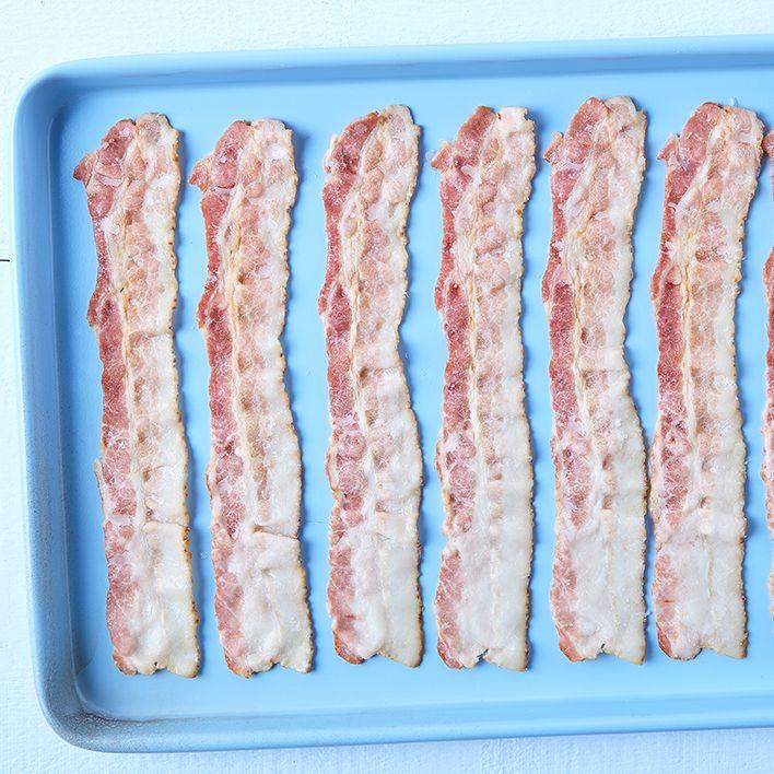 Bacon, partially cooked (16-18 sl/lb)