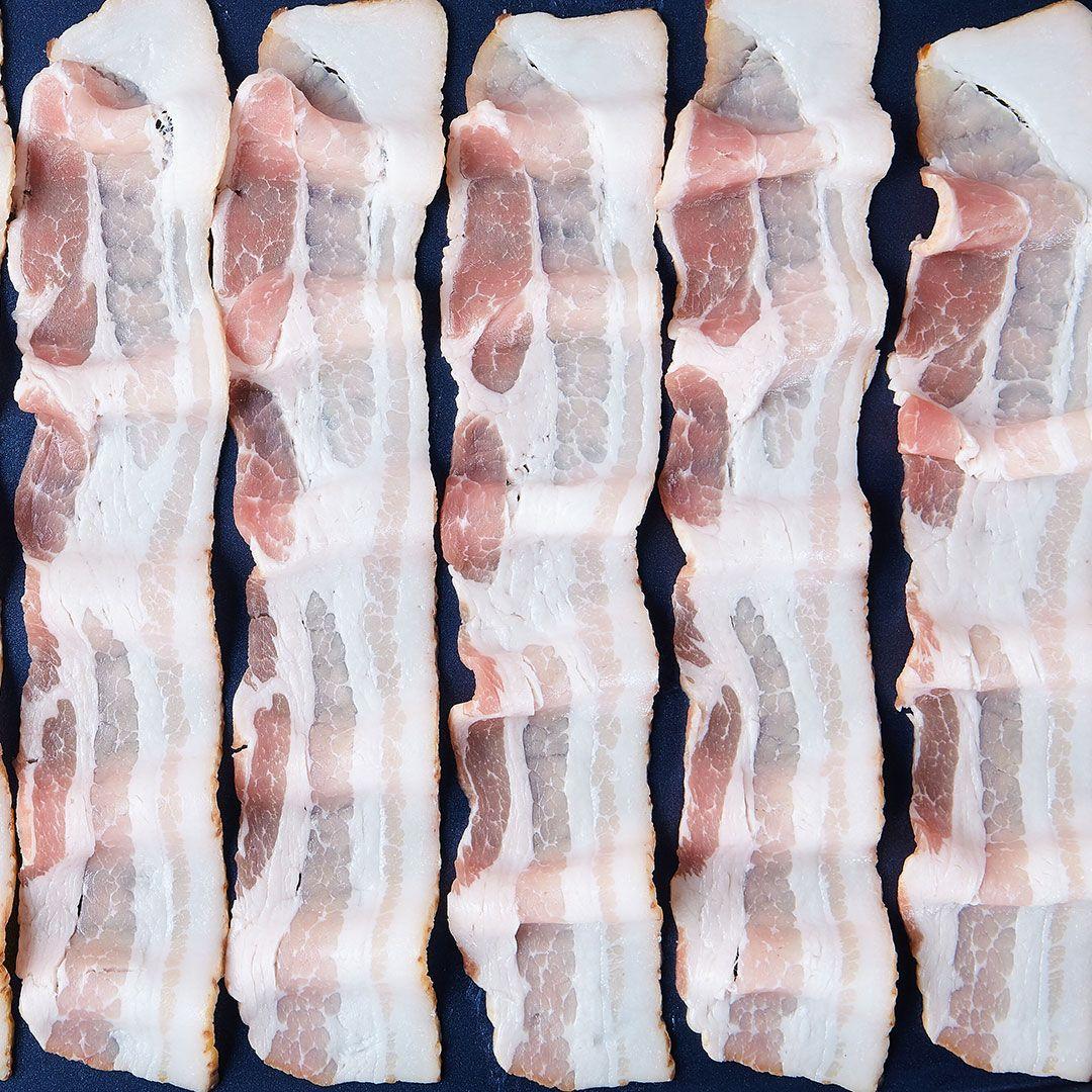 Bacon, 33% less sodium (16-18 sl/lb)