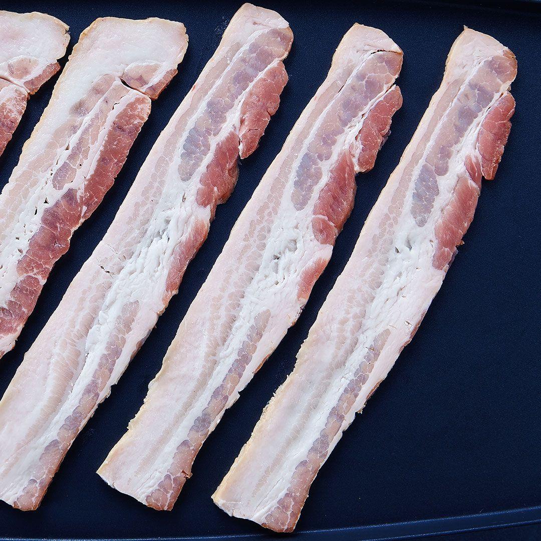 Bacon tranché à faible taux d'injection, 11 tranches / 2 pouces