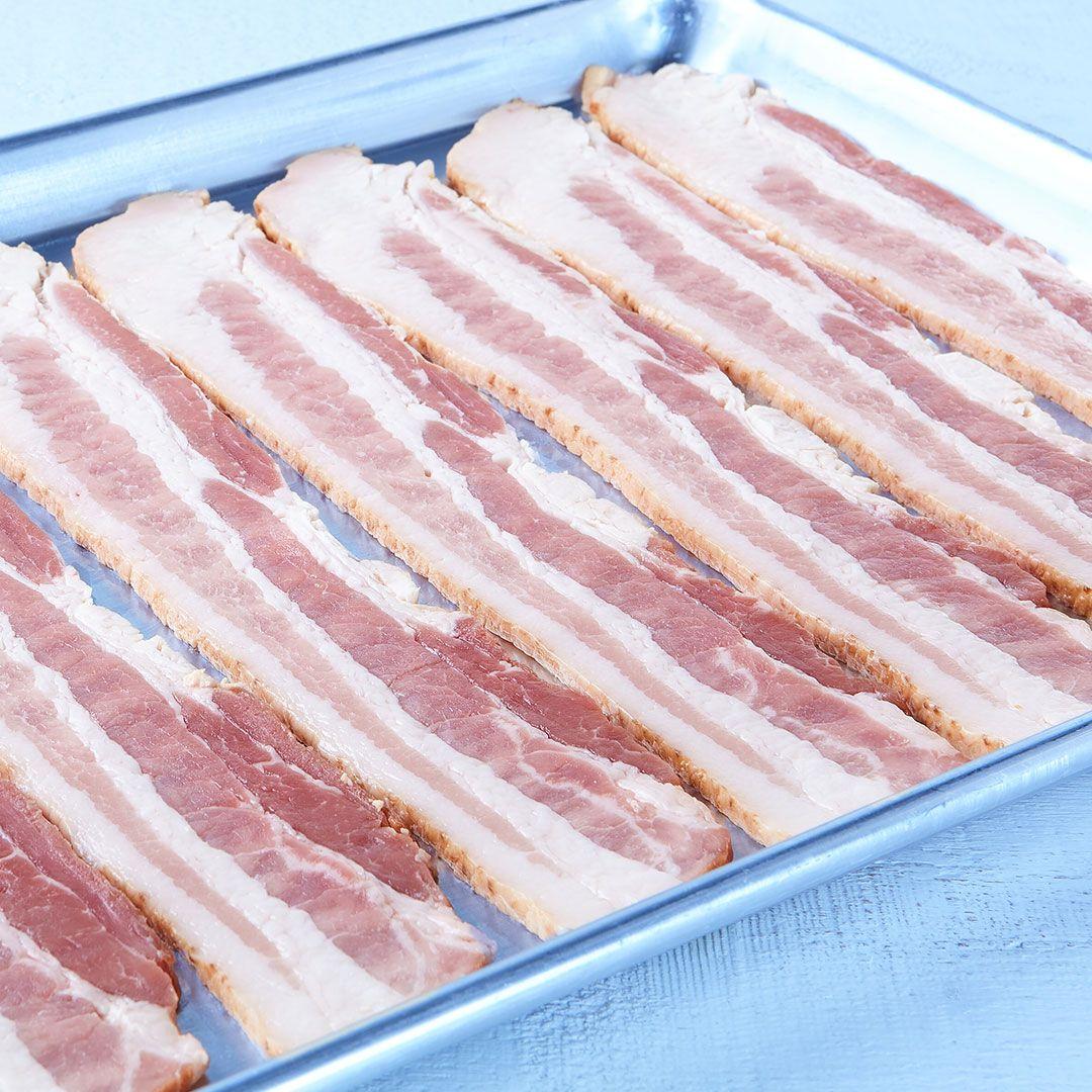 Natural smoke bacon (6-8 sl/lb)