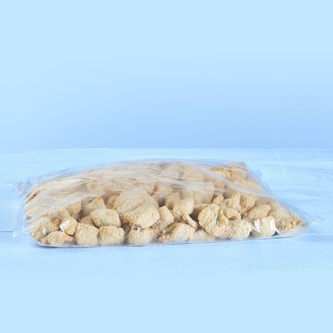 Morceaux de porc panés, désossés, entièrement cuits (2 sacs x 2 kg)