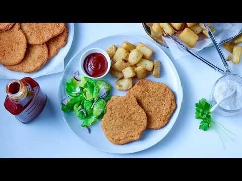 Breaded turkey schnitzels (seasoned)