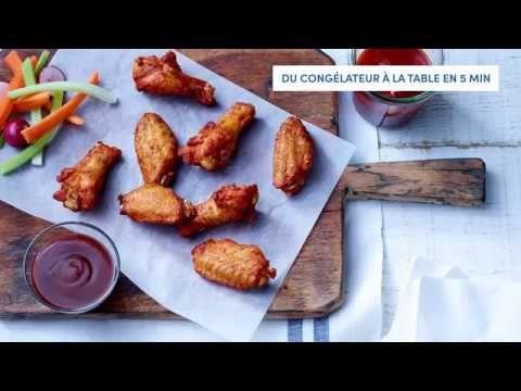 Ailes de poulet BBQ épicées, entièrement cuites