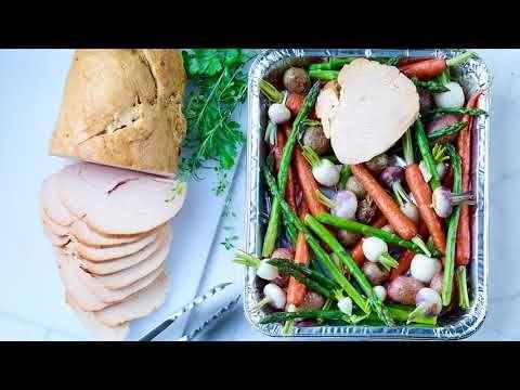 Boneless, skinless turkey breast roast (seasoned)