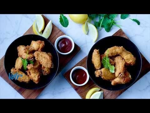 Ailes de poulet, entièrement cuites