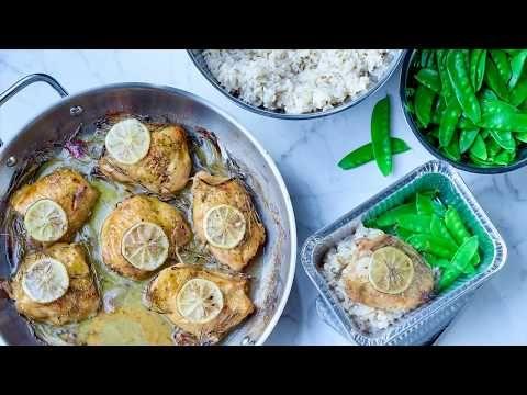 Hauts de cuisse de poulet (assaisonnés)