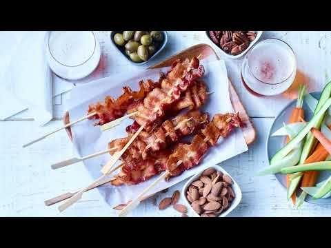 Bacon fumée naturelle (6-8 tr/lb)