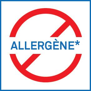 Icon - Sans allergène