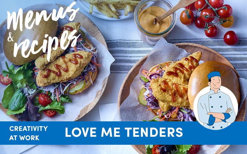 Creativity at work : Love Me Tenders