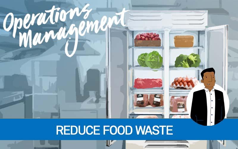 Smart fridge management to reduce waste