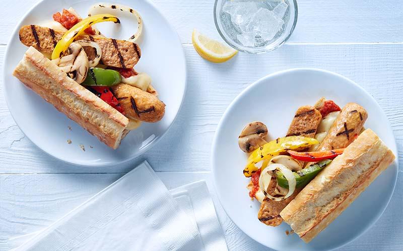 Italian Sausages Sandwich