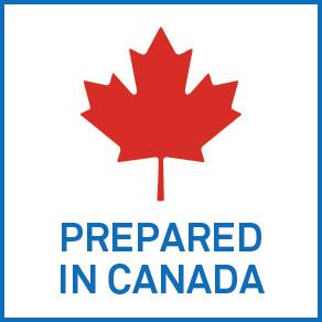 Prepared in Canada