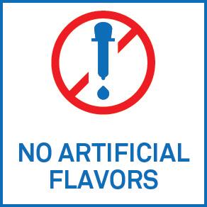 No artificial flavor